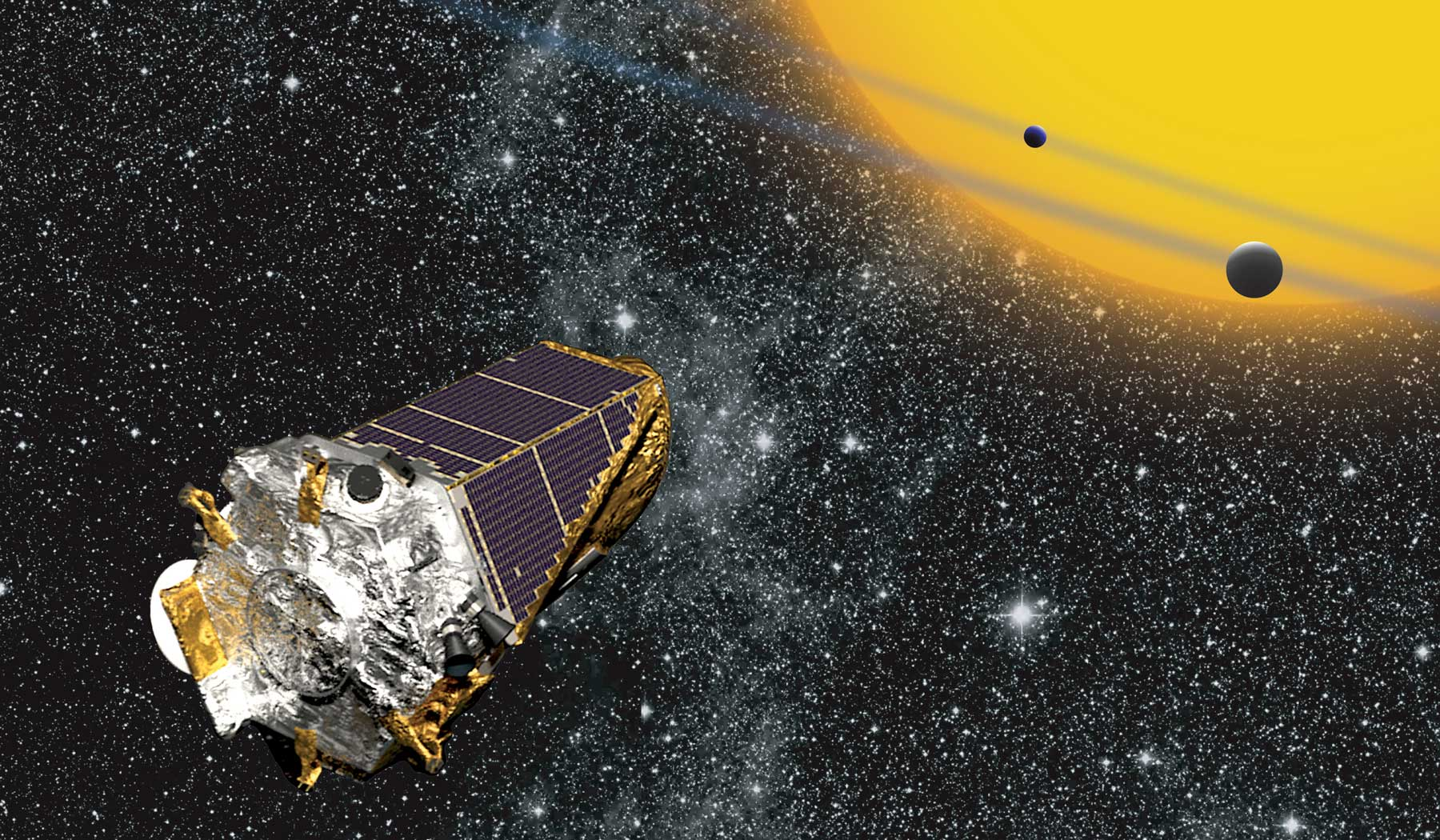Kepler space telescope.