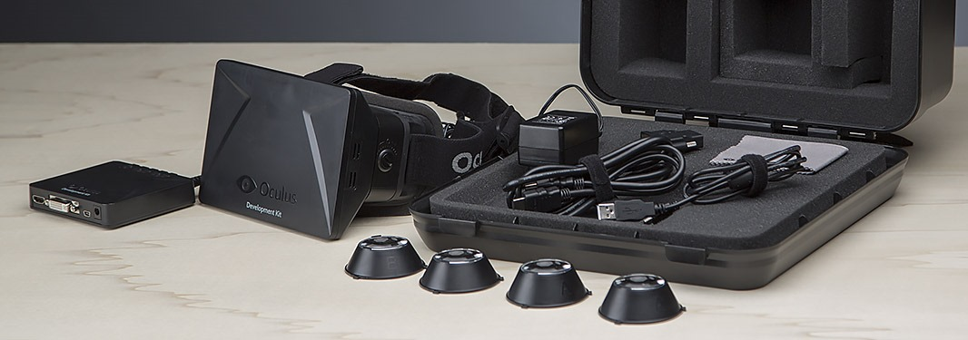 Oculus Rift Development Kit.