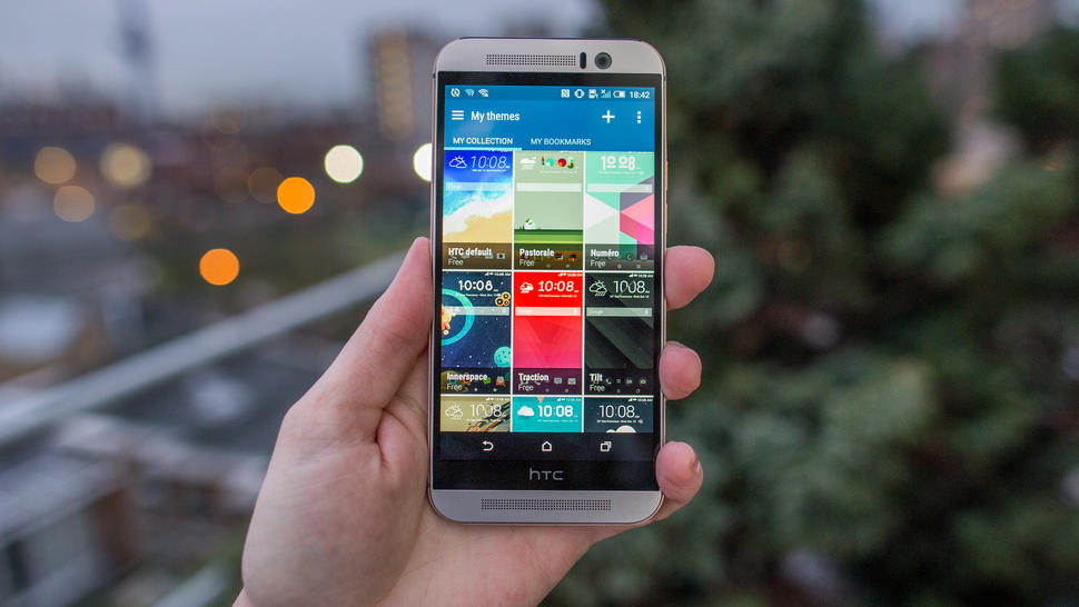 HTC One M9. Image credit: CBS Interactive