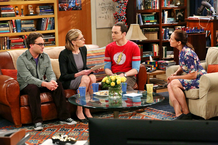 Considering fans have had a fun time watching both Leonard's and Sheldon's mothers, meeting Penny's mom will surely bring hilarious episodes for the CBS series. Image Credit: Entertainment Weekly