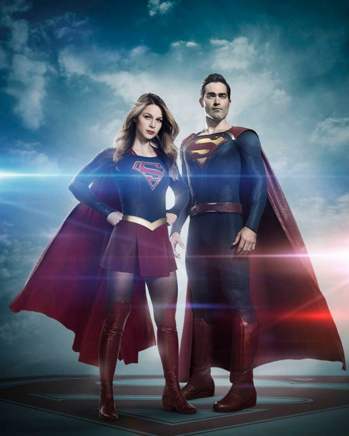 Superman meets Kara in Supergirl's season 2