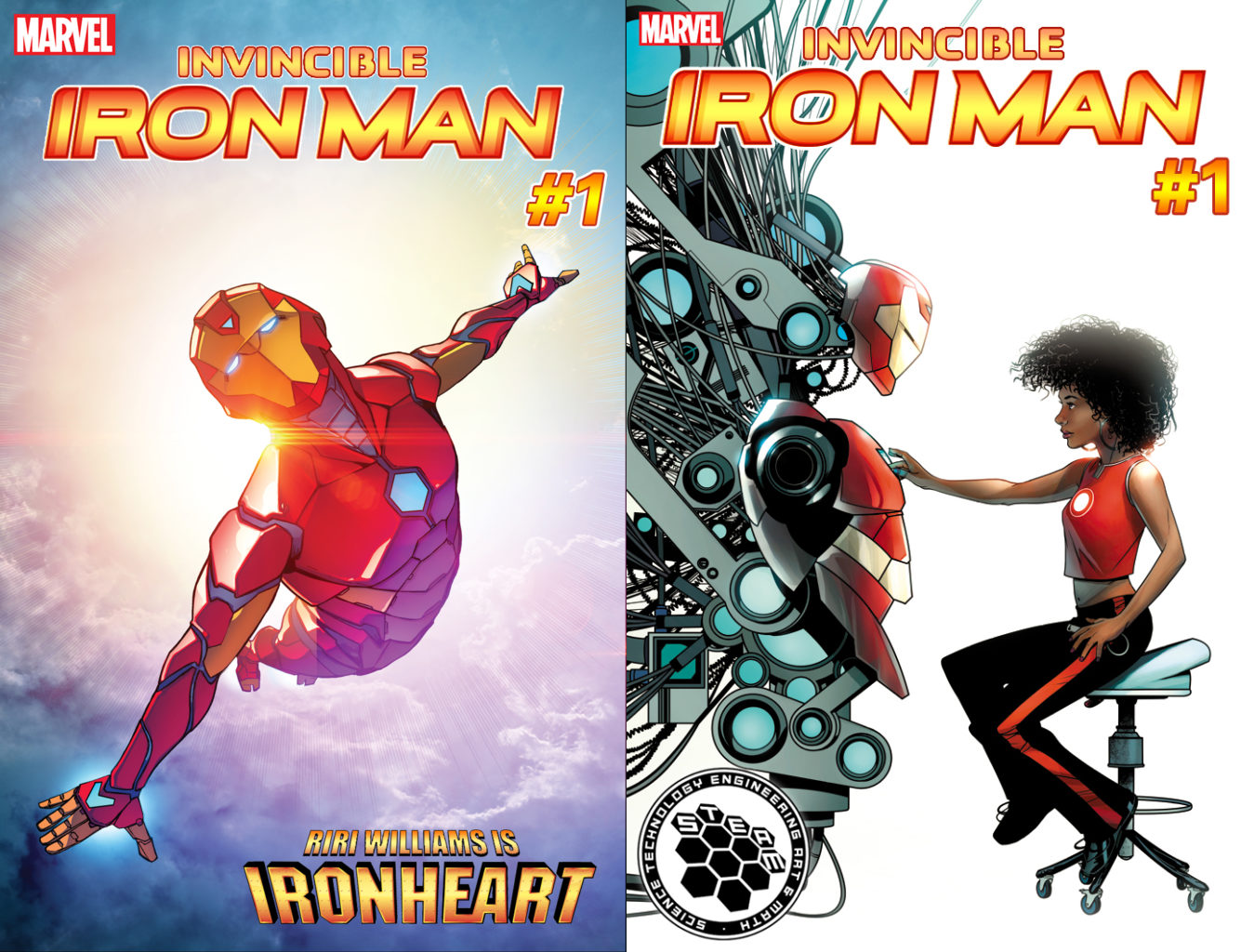 Bendis told comic book writer Joe Quesada about this plans for Riri and he proposed the name Ironheart, the name they ended up using. Image Source: The Verge