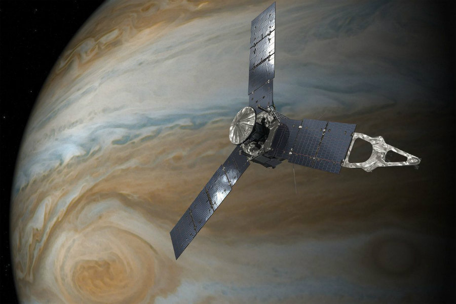 Juno spacecraft will take firts close-up pictures of Jupiter. Image Source: The Verge