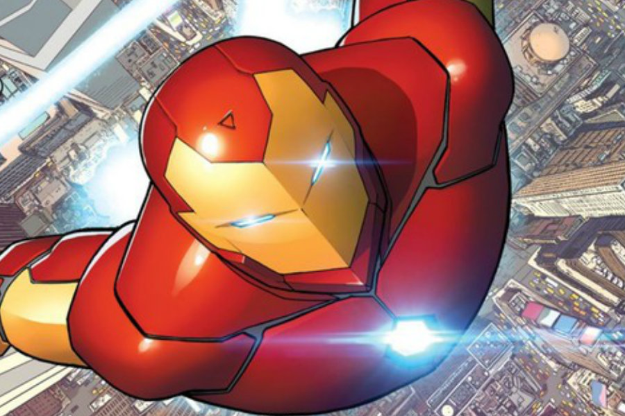 Marvel revealed the spin off for Tony Stark's Iron Man comic books, the Ironheart series featuring Riri Williams as Stark's prodigee. Image Source: IGN