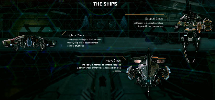 Eve Valkyrie Ships