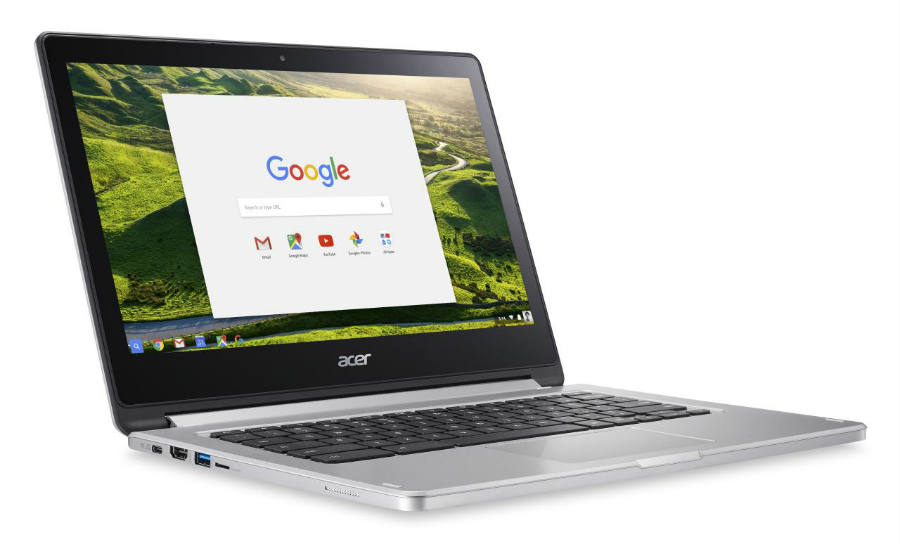 First pictures of Acer's new chromebook R13.