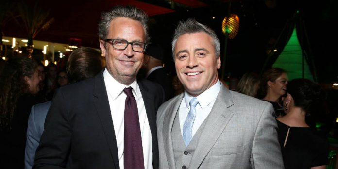 Matt Leblanc and Matthew Perry are together again in CBS