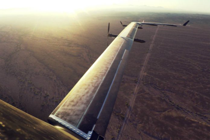 Watch Aquila's first flight, Facebook's internet drone