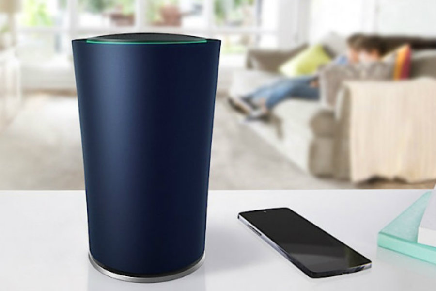 Google's OnHub Wi-Fi Router comes with built-in adaptability for all google devices. Image Source: Mashable