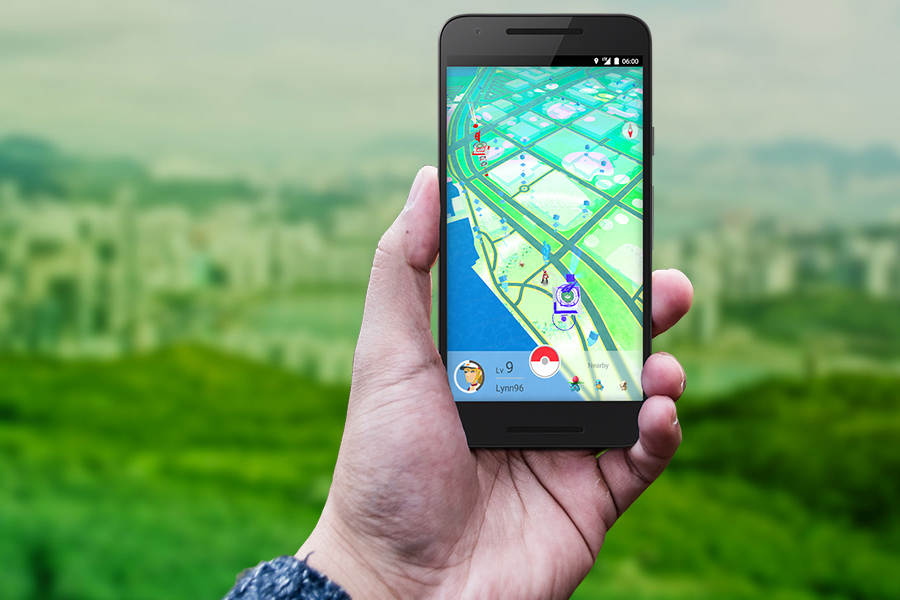 Pokemon Go's VR feature was a key element on the videogame's launch, giving the wondering nature of the game. Image Source: Digital Trends