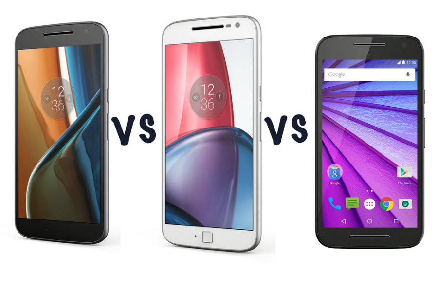 Motorola Motorola Moto G4 vs Moto G4 Plus vs Moto G4 Play vs Moto G. Image Source: The Next Web
