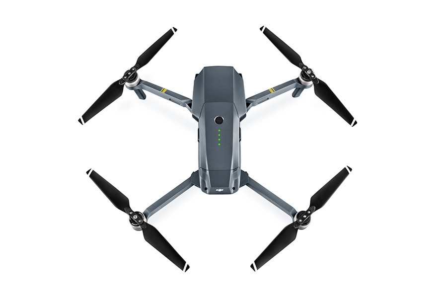 DJI's Mavic Pro focuses on portability, its arms and propellers fold alongside its body for easy transportation just like stepbrother Karma. Image Source: Les Numeriques
