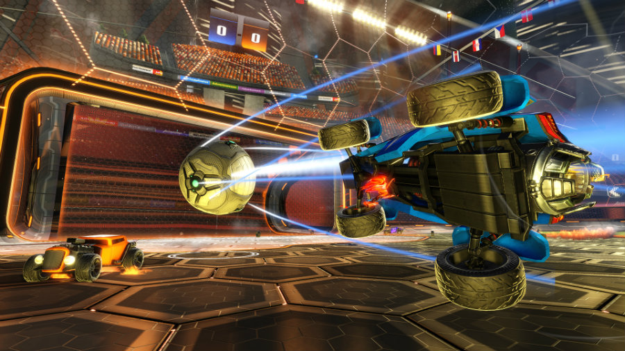Rocket League displays multiple game modes for gamers to battle each other on soccer-like arenas. Image Source: iDigital Times