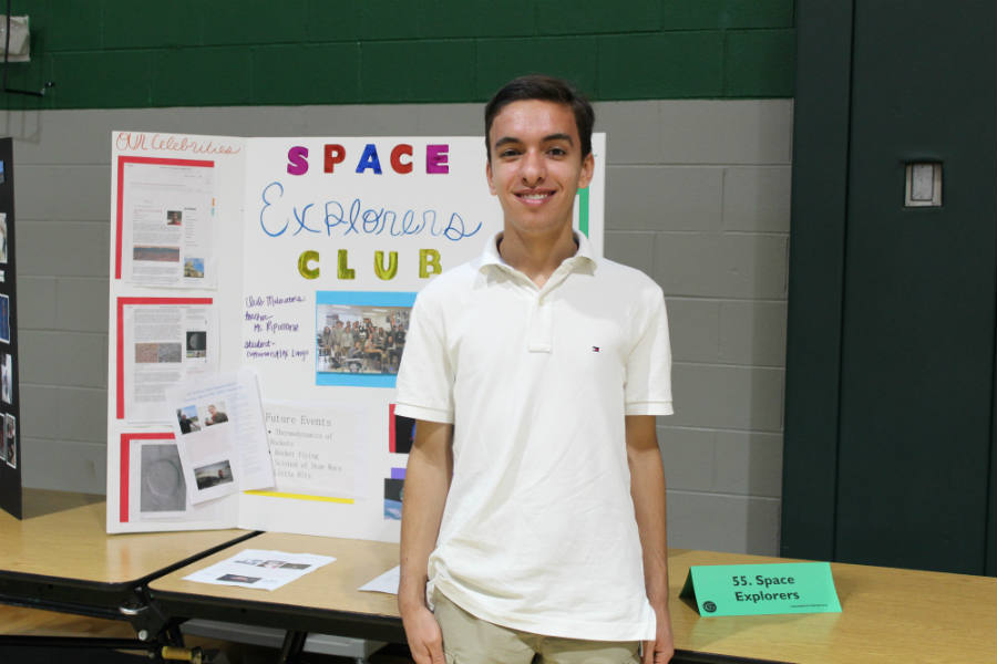 Alex Longo is the youngest member of the Mars Rover Team