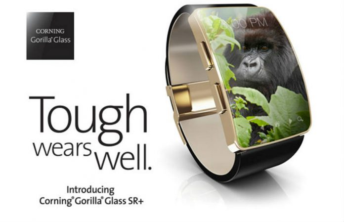 Corning's Gorilla Glass SR+ for small wearables