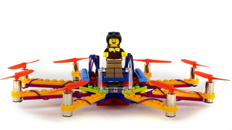 Flybrix's LEGO drones have many designs.