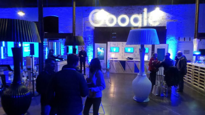 Google's 4 10 launching event info.
