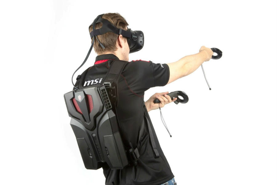 msi-vr-one-i7-backpack computer