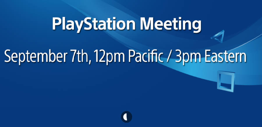 PlayStation Meeting countdown