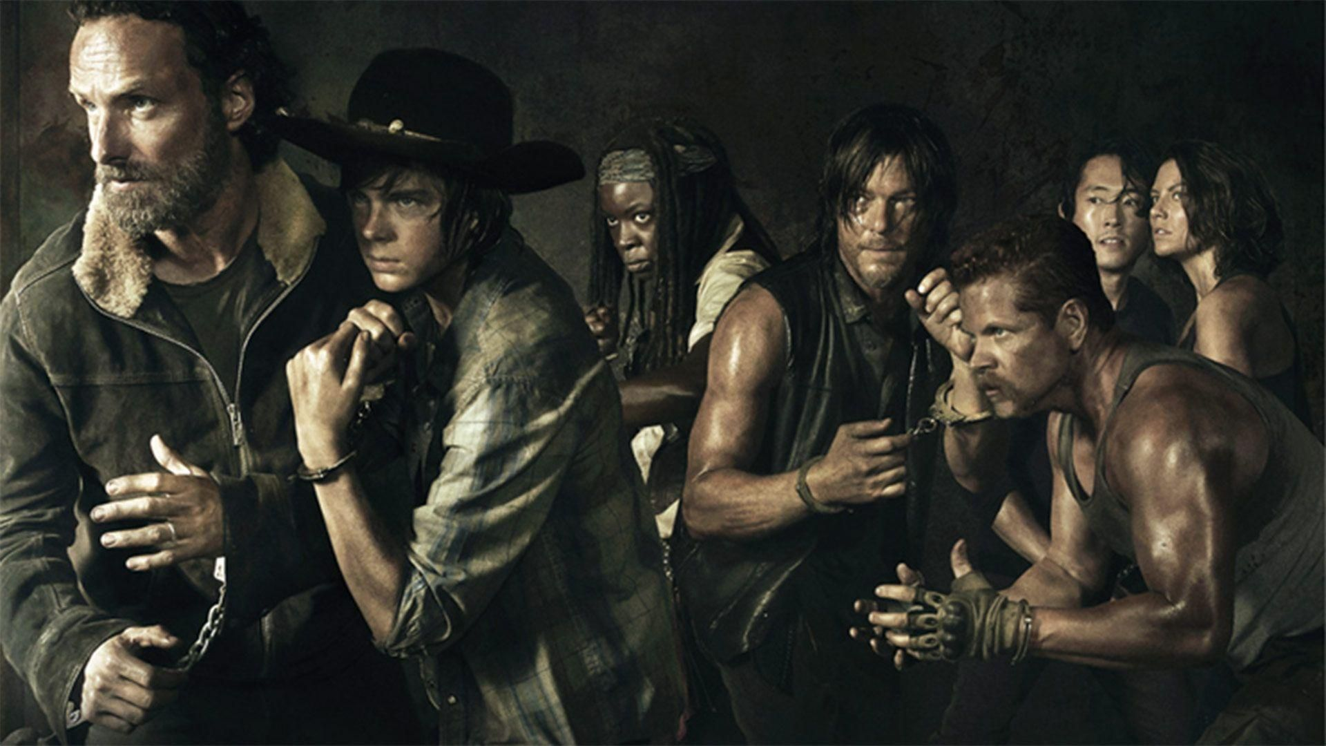 The last teaser for this new season suggests a new supply team composed of Rick and Daryl. Image Source: AMC