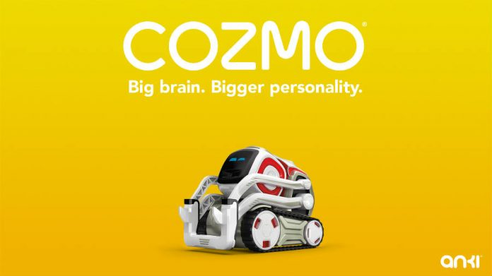 Anki introduces Cozmo, the first pet robot for the family