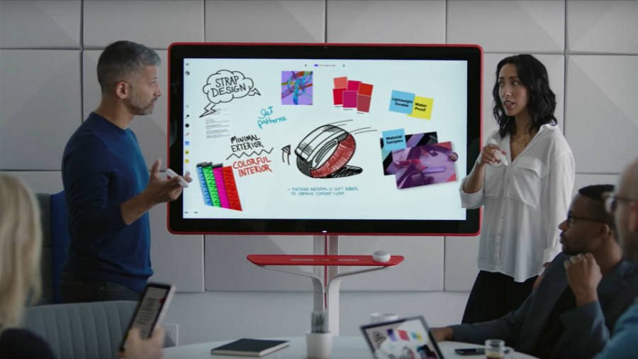 Google announces Jamboard, the whiteboard of the future