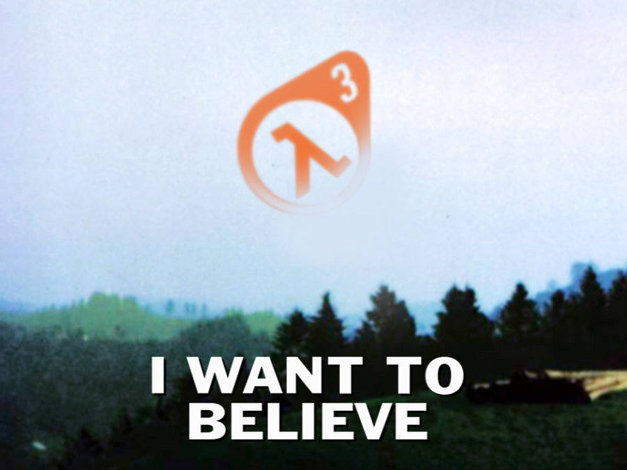 Half-Life 3 memes are common on the Net.