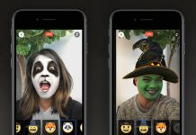 How to use Halloween masks and reactions on Facebook