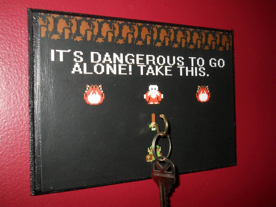 It's dangerous to go alone, take this meme.