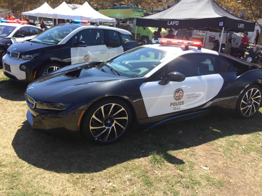 LAPD officers will now patrol the streets on Tesla Model S Sedans.
