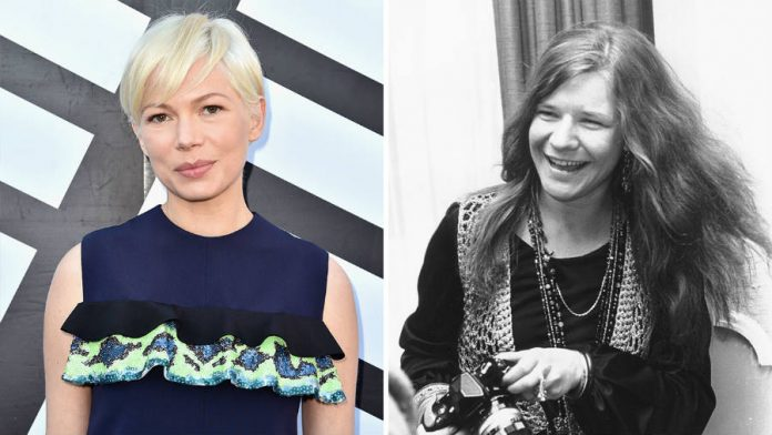 Michelle Williams to play Janis Joplin in Love, Janis biopic