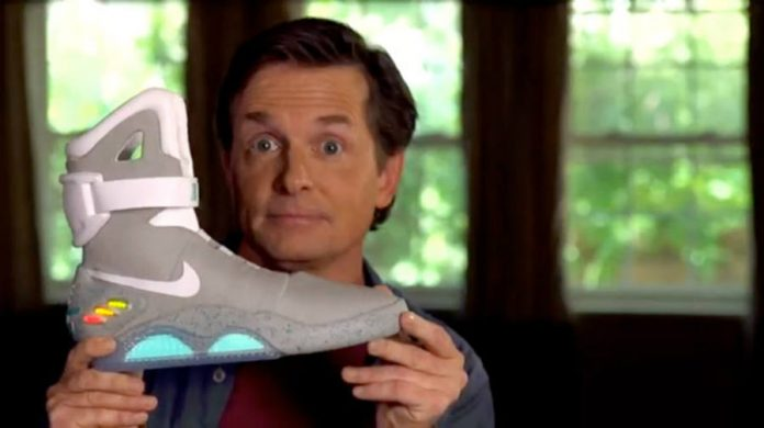 Nike & Michael J. Fox raffle off Back To The Future shoes