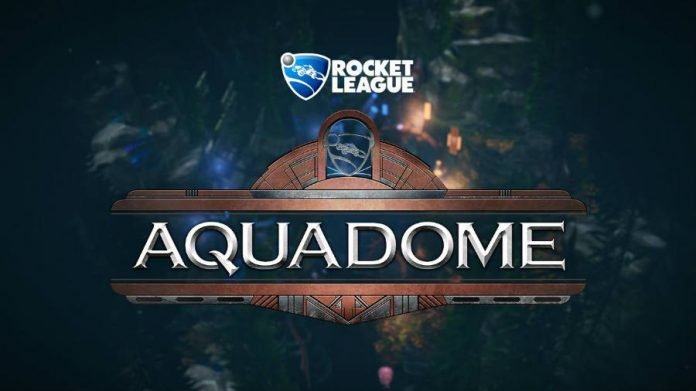 Rocket League AquaDome DLC, achievements, features, new cars and arenas.