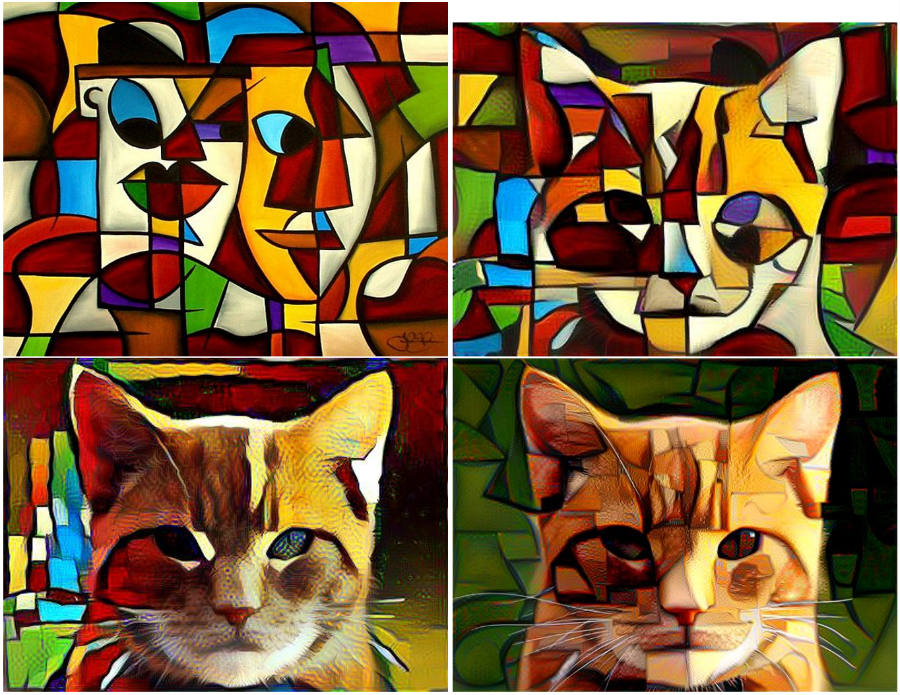 Style Transfer example.