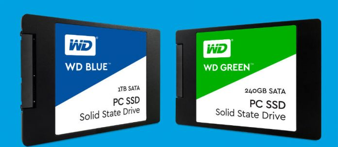 Western Digital launches two new SDD lines for consumers