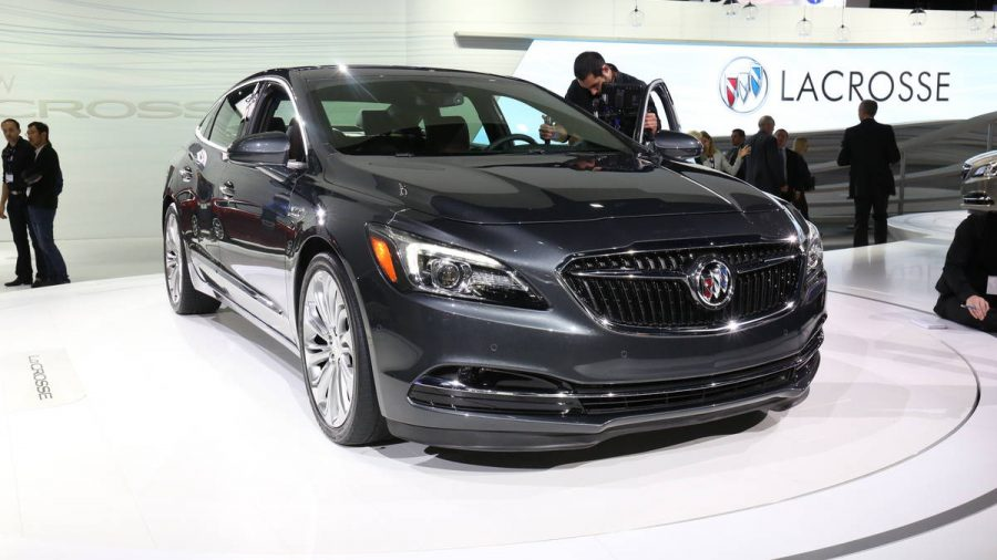 The 2017 Buick LaCrosse luxury SUV made its debut at Los Angeles Auto Show. Image Source: AutoWeek