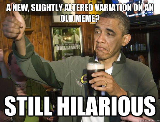 upvote Obama Meme.