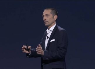 AWS CEO Andy Jassy at the reInvent con 2016.