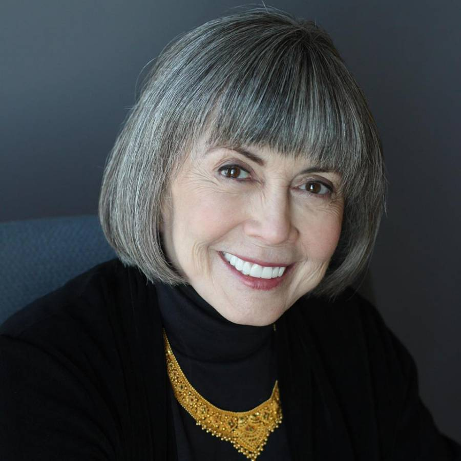 Anne Rice's Facebook profile picture.