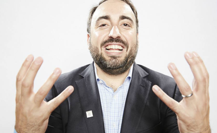 Chief Security Officer of Facebook, Alex Stamos.