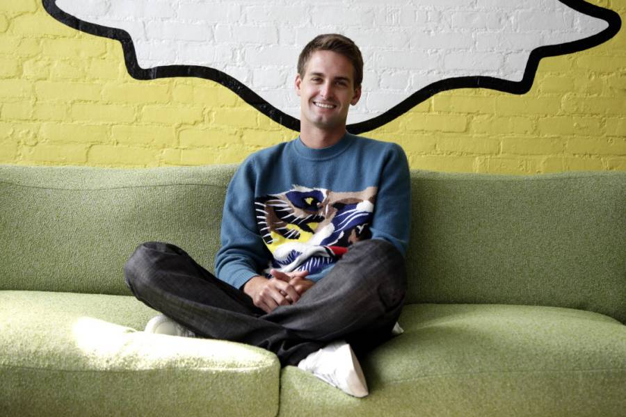 Evan Spiegel, Spanchat's founder photo