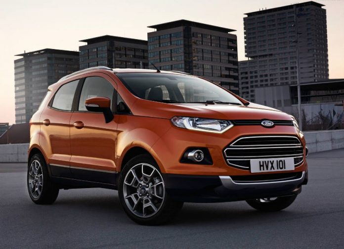 Ford EcoSport puts high-end tech in a tiny SUV