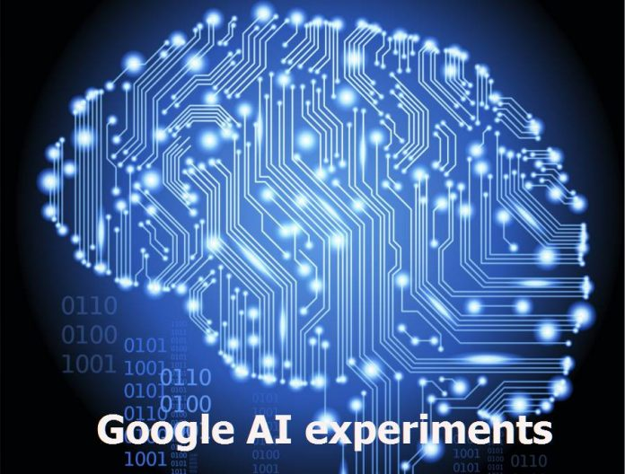 What is Google AI experiments