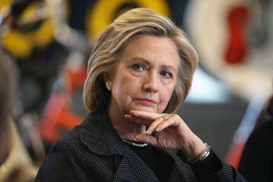 Hackers and independent organizations like Wikileaks exposed hillary Clinton's secrets.