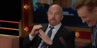 Conan on TBS: Louis C.K. says voting for Clinton is mature