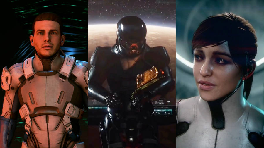 Mass Effect Andromeda Protagonists.