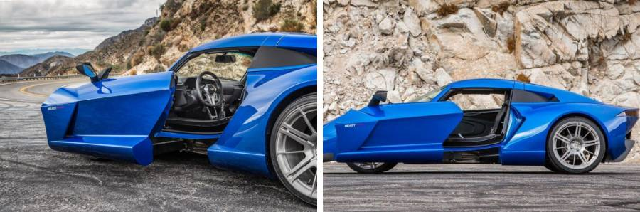 Rezvani Beast Alpha door pictures