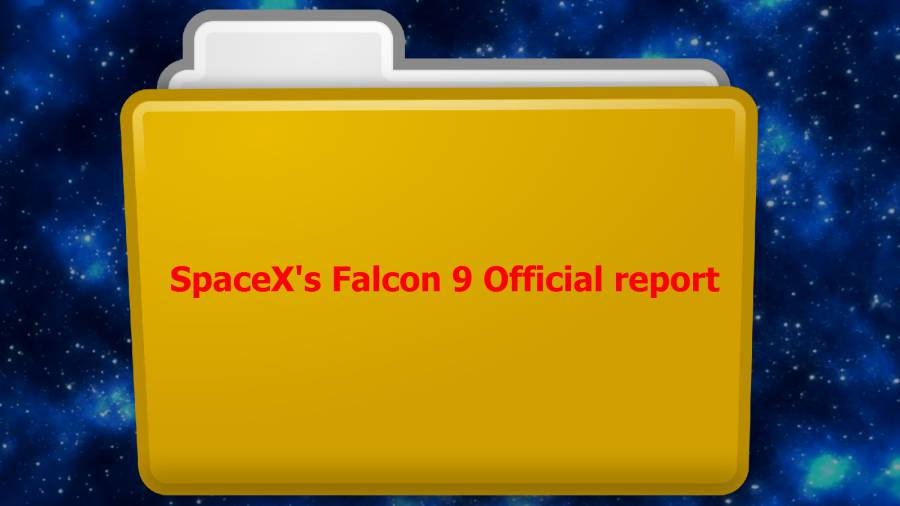 SpaceX-Falcon9-Official report