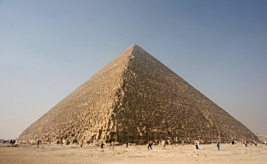 The Pyramid of Cheops photo.