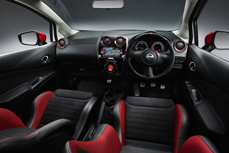 A shot from Nissan Note Nismo's interior design. Image Source: Slash Gear